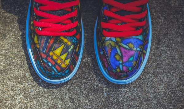 Nike SB Dunk High Stained Glass (10)