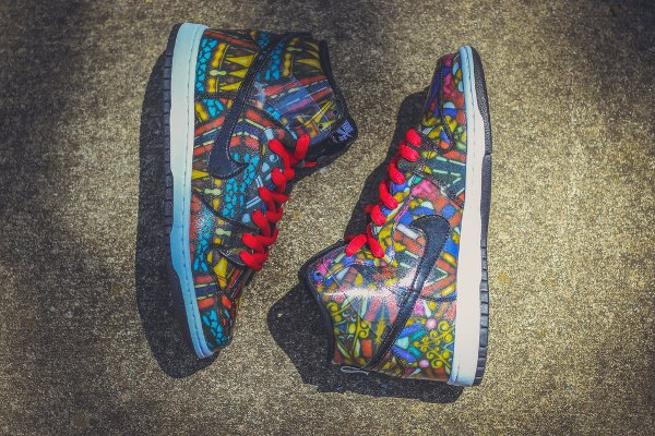Nike SB Dunk High Stained Glass (2)