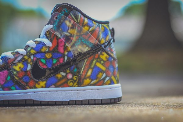 Nike SB Dunk High Stained Glass (4)