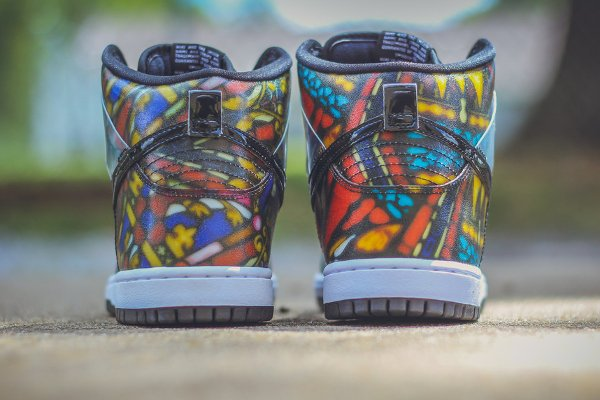 Nike SB Dunk High Stained Glass (5)