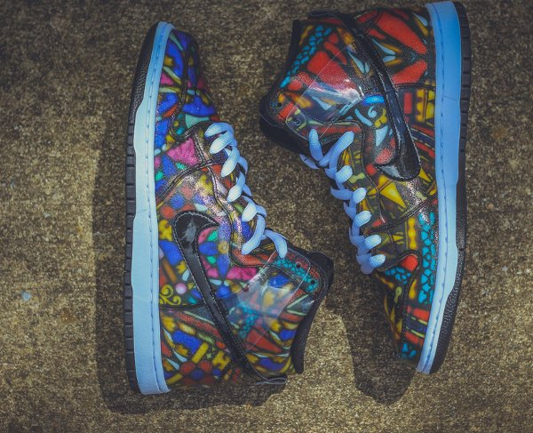 Nike SB Dunk High Stained Glass (6)