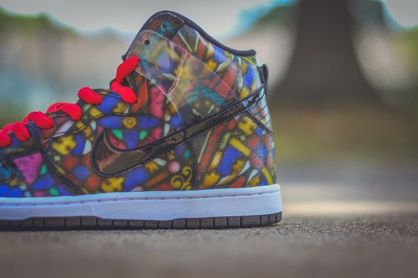 Nike SB Dunk High Stained Glass (8)