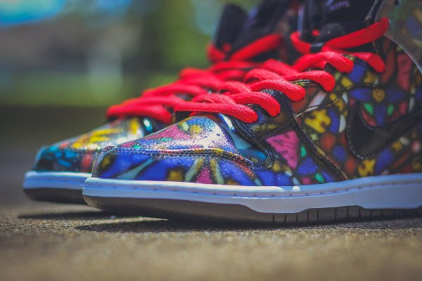 Nike SB Dunk High Stained Glass (9)