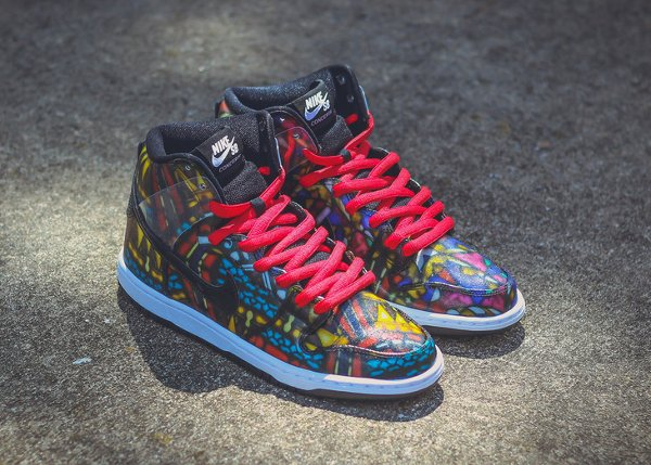Nike SB Holy Grail Dunk High Stained Glass