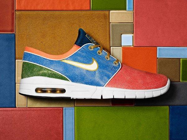 Nike SB Janoski Max L Mosaic x Concepts 'Holy Grail'