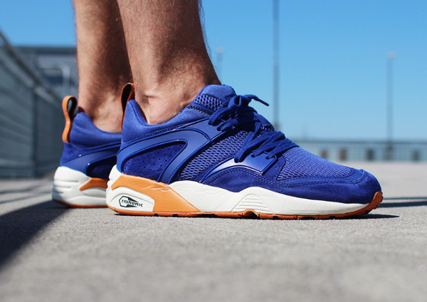 puma blaze of glory bleu