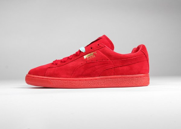 puma suede classic mono iced rouge