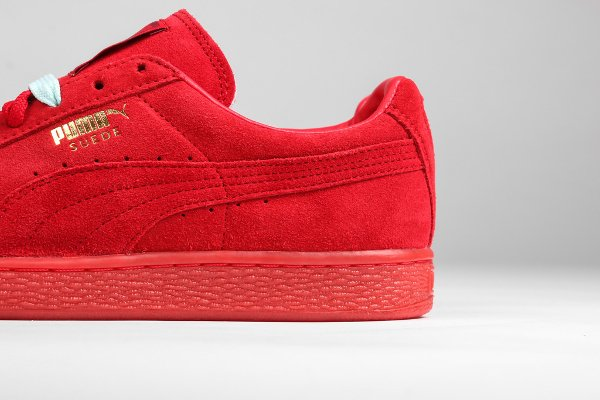 Puma Suede Classic + Mono Iced High Risk Red (3)
