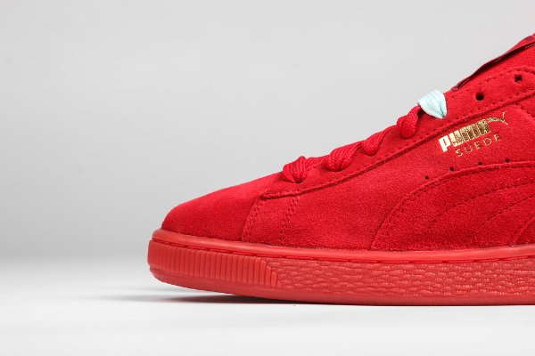 Puma Suede Classic + Mono Iced High Risk Red (4)