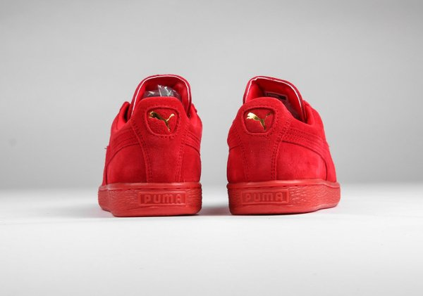 Puma Suede Classic + Mono Iced High Risk Red (5)