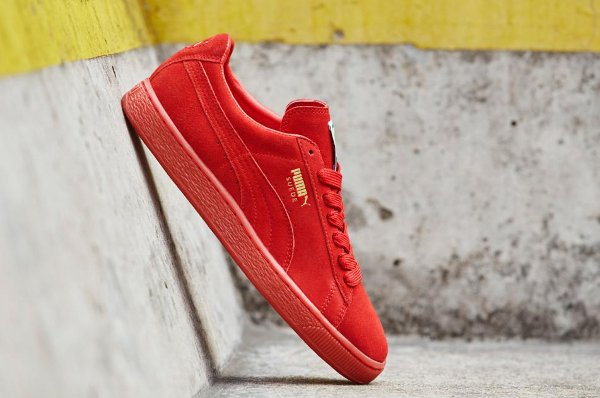 Puma Suede Classic + Mono Iced Red Gold (2)