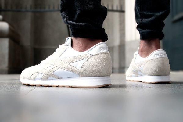 Reebok CL Nylon Artic Fox x Maison Kitsuné