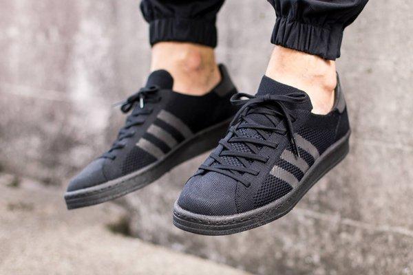 Adidas Campus 80's Primeknit Black