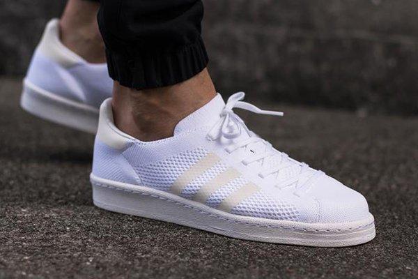Adidas Campus 80's Primeknit White