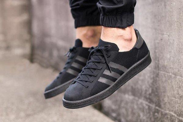 Adidas Campus tissée noire (1)