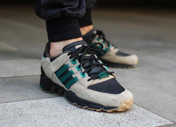 Adidas EQT Support 93 Hemp Black Green (1)