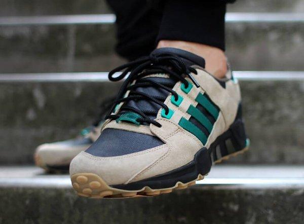 Adidas EQT Support 93 Hemp Black Green (2)