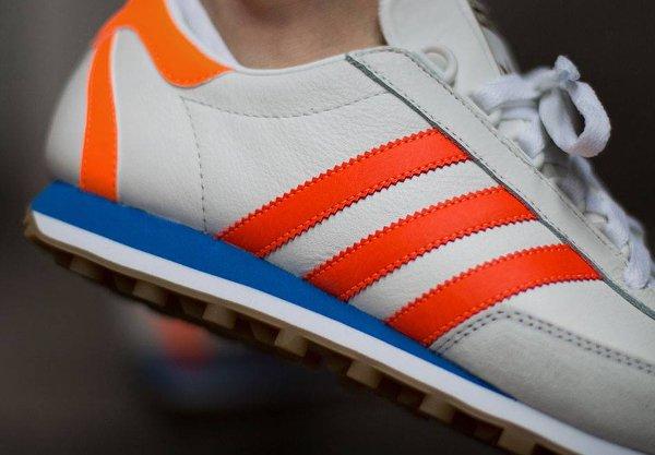 Adidas Originals Nite Jogger blanche orange (2)