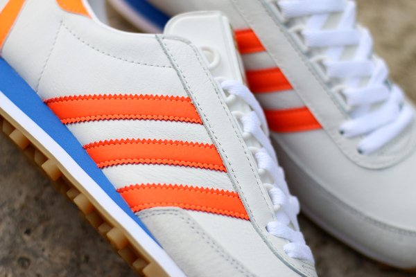 Adidas Originals Nite Jogger blanche orange (4)