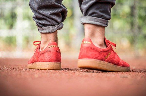 Adidas Spezial en daim rouge (1)
