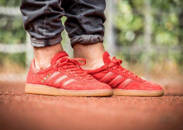 Adidas Spezial en daim rouge