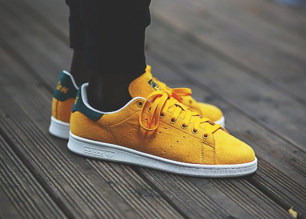 Adidas Stan Smith Collegiate Gold
