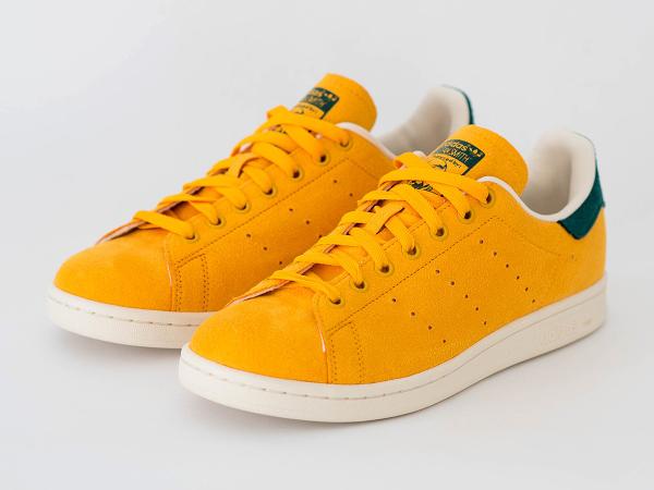 La Adidas Stan Smith Collegiate Gold est en vente (100 euros) chez Zalando : voir la paire.