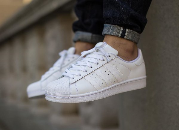 superstar blanche adidas