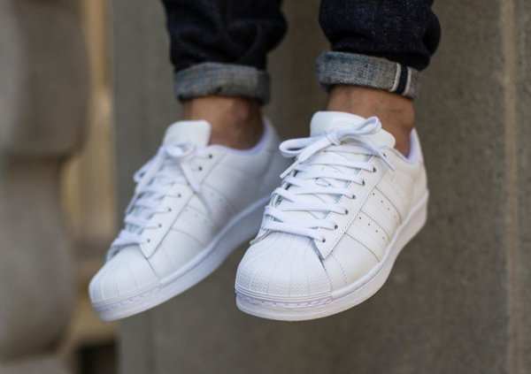 Adidas Superstar Foundation Blanche (2)