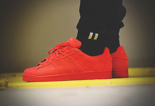 Adidas Superstar RT Triple Red Suede (4)