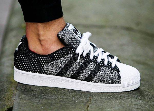 Adidas Superstar Weave Black White (1)