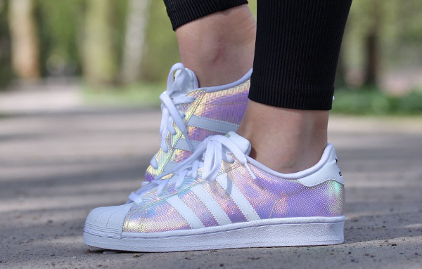 adidas superstar irisé