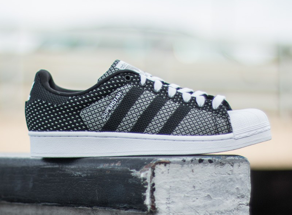 8988c0dc730 Adidas Superstar Weave Black White