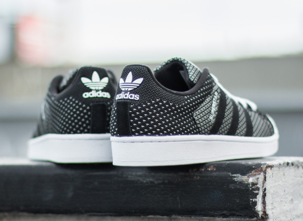 52f8bb48f410 Adidas Superstar Weave Black White