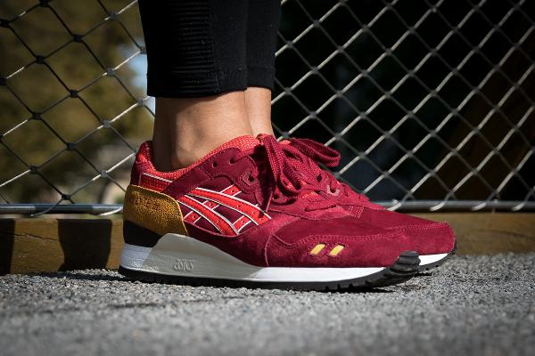 Asics Gel Lyte 3 Burgundy Fiery Red | Sneakers actus