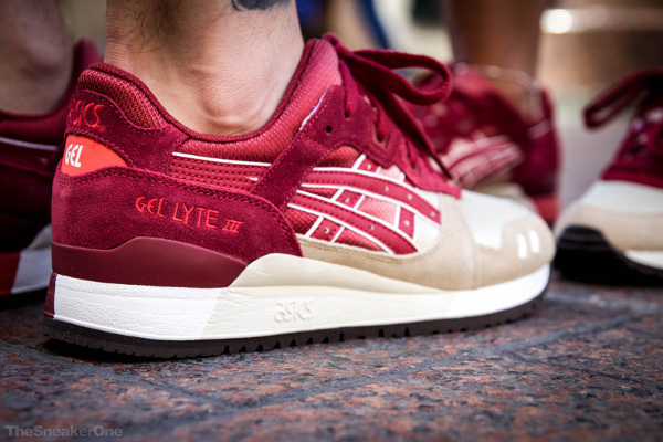new arrival ca5a5 acdeb Asics Gel Lyte 3 Gradient Burgundy | Sneakers-actus
