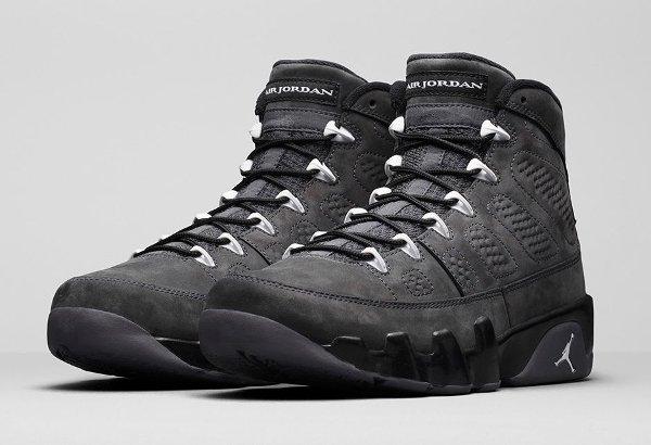 Basket Nike Air Jordan 9 Anthracite Black (2)