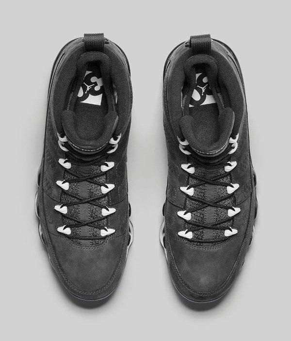 Basket Nike Air Jordan 9 Anthracite Black (3)