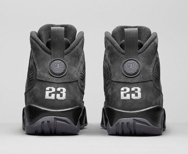 Basket Nike Air Jordan 9 Anthracite Black (4)