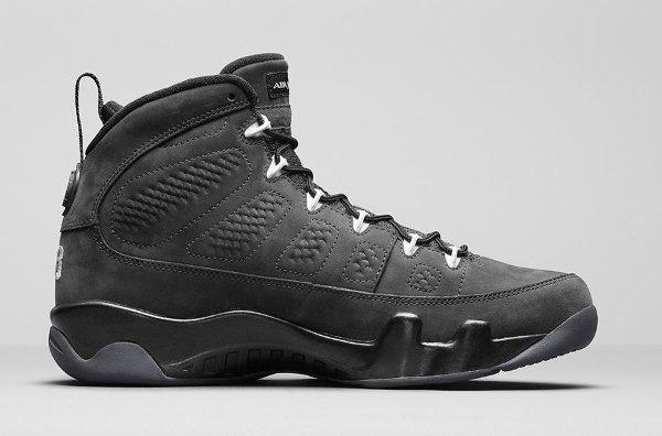 Basket Nike Air Jordan 9 Anthracite Black (5)
