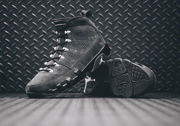 Basket Nike Air Jordan 9 Anthracite Black (6)
