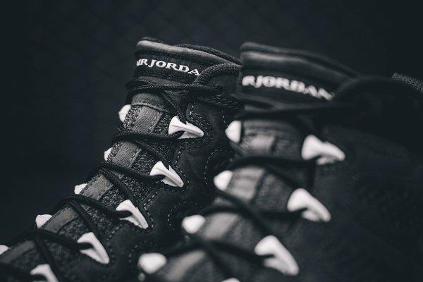 Basket Nike Air Jordan 9 Anthracite Black (8)