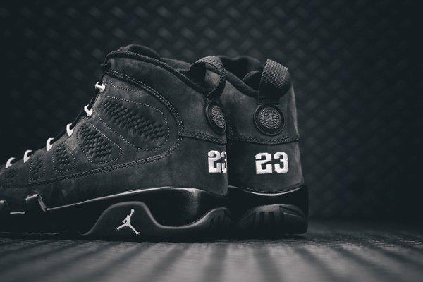 Basket Nike Air Jordan 9 Anthracite Black (9)