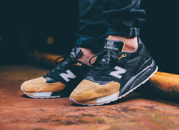 new balance 998 pmr black beige