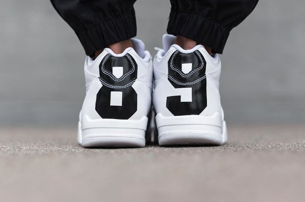 Nike Air Flight 89 Leather Triple White (3)