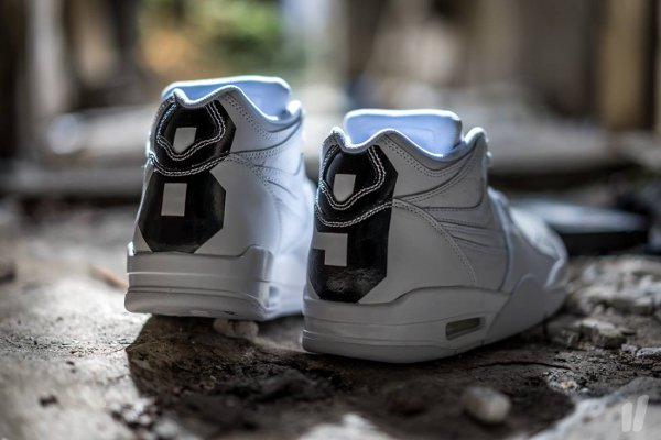 Nike Air Flight 89 Leather Triple White (4)