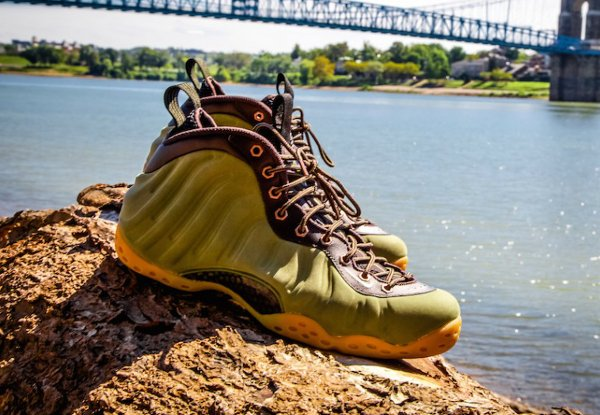 Nike Air Foamposite One Suede Olive