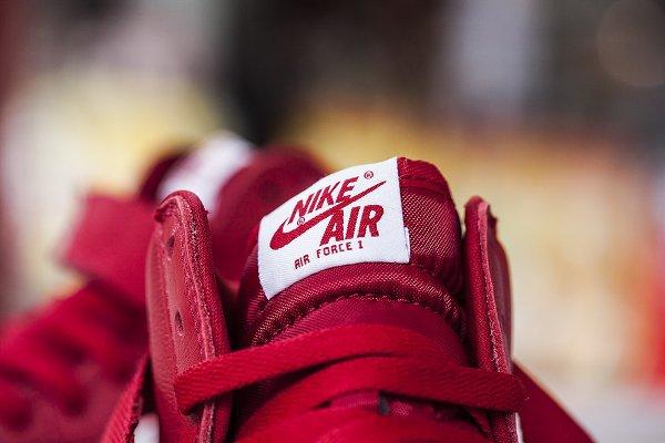 Nike Air Force 1 High Retro QS rouge (6)