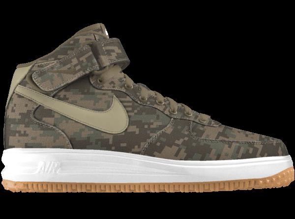 Nike Air Force 1 ID Mid Digi Camo