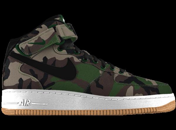 Nike Air Force 1 ID Woodland Camo Mid